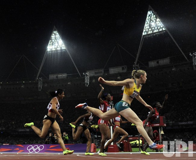 Women's 100M Hurdles Final at 2012 Olympics in London