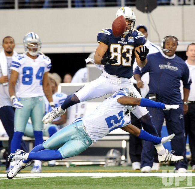 San Diego Chargers Dallas Cowboys: San Diego Chargers Vincent Jackson Against The Cowboys