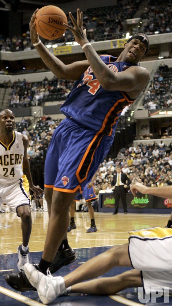 NEW YORK KNICKS VS INDIANA PACERS