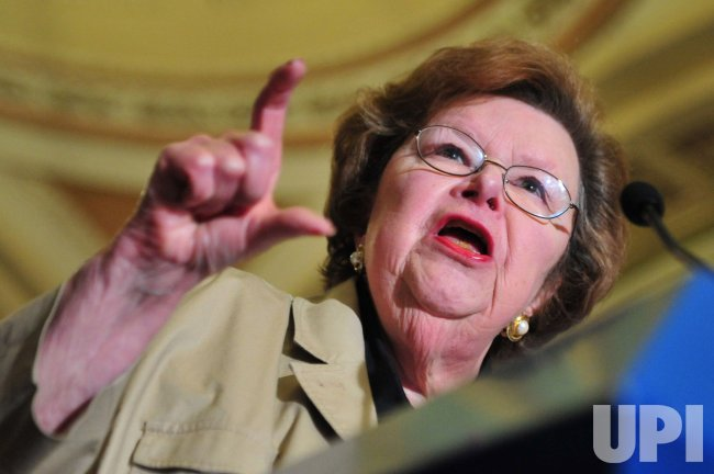 Sen. Mikulski speaks on ethanol subsidies in Washington