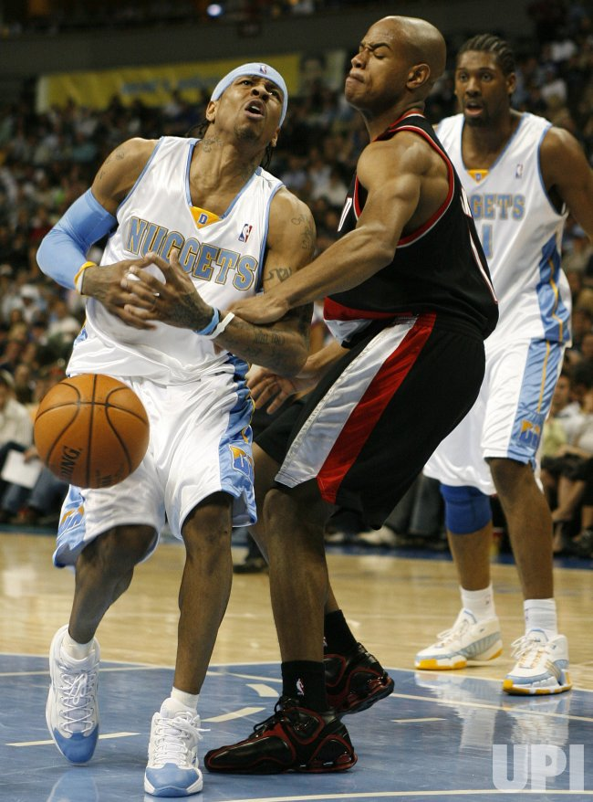 PORTLAND TRAIL BLAZERS VS DENVER NUGGETS