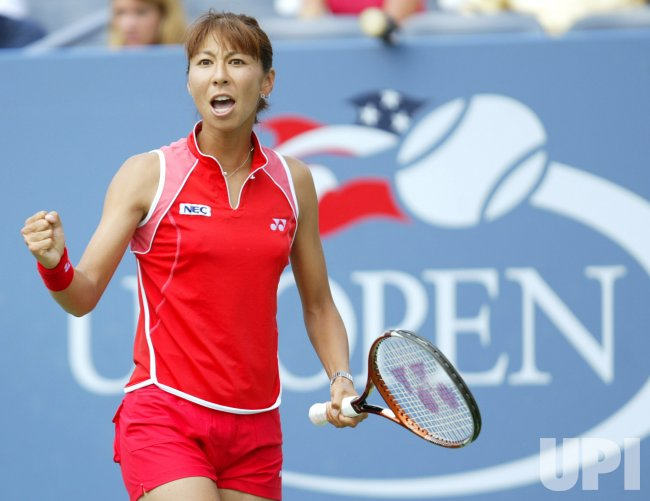 SHINOBU ASAGOE ADVANCES TO QUARTER FINALS AT THE 2004 US OPEN