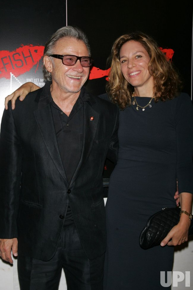 "Harvey Keitel arrives for the premiere of ""Catfish"" at the Paris Theatre in New York"