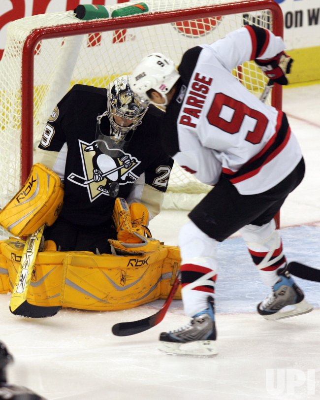 Pittsburgh Penguins vs New Jersey Devils