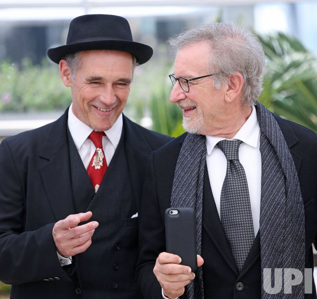 Mark Rylance And Steven Spielberg Attend The Cannes Film Festival