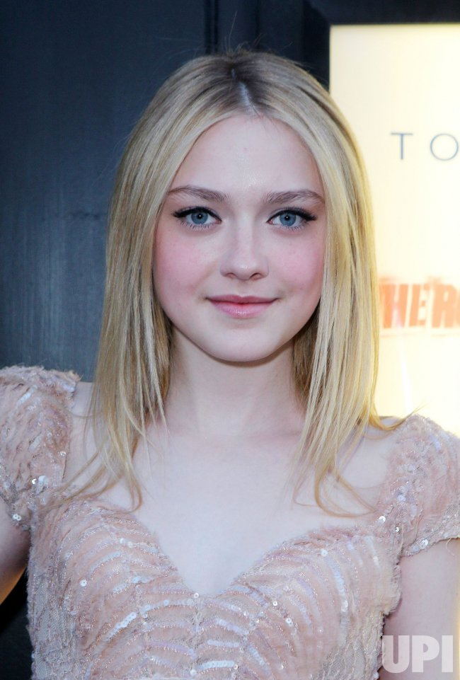 "Dakota Fanning arrives at the premiere of ""The Runaways"" in new York"
