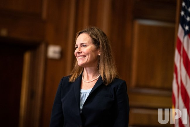 Supreme Court Nominee Judge Amy Coney Barrett Meets ...