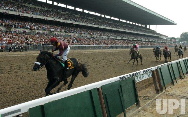 Da'Tara wins the 140th Belmont Stakes in New York