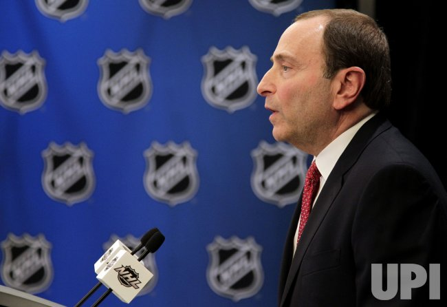 NHL louckout press conference