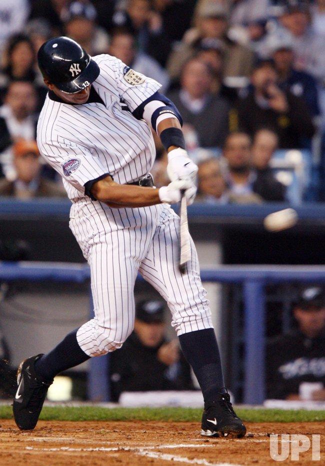 Toronto Blue Jays vs New York Yankees at Yankee Stadium in New York