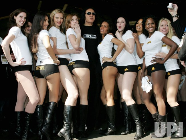 GENE SIMMONS PROMOTES HIS TV REALITY SHOW IN NEW YORK