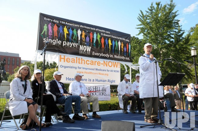 Doctors call for single-payer health care system in Washington