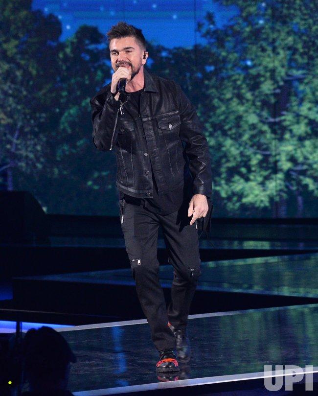 Juanes performs at the Latin Grammy Awards in Las Vegas