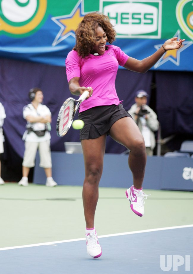 Serena Williams attends Arthur Ashe Kids Day in New York