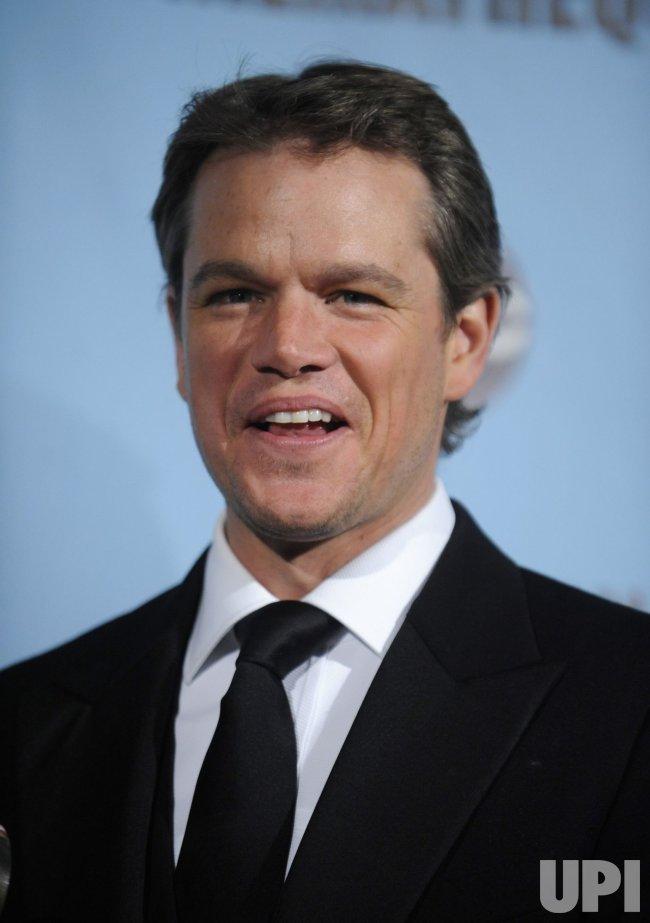 Matt Damon attends the 24th annual American Cinematheque Award Ceremony in Beverly Hills, California
