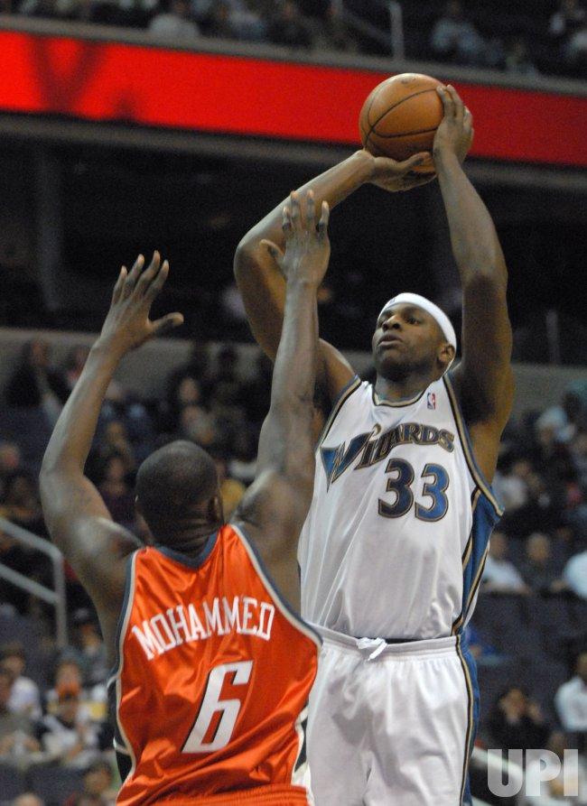 Charlotte Bobcats vs Washington Wizards in Washington
