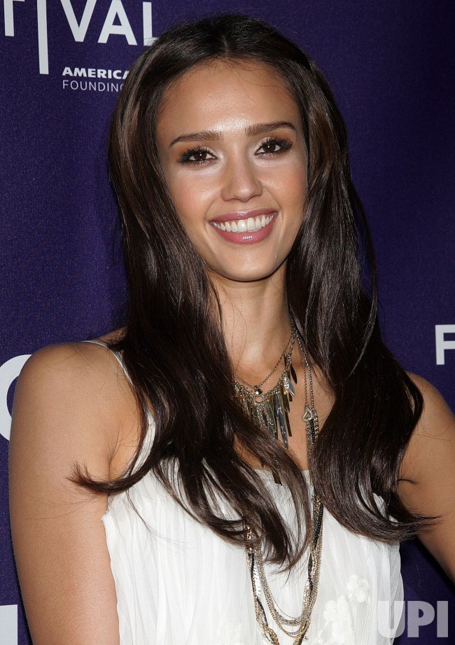 "Jessica Alba arrives for the Premiere of ""The Killer Inside Me"" at the Tribeca Film Festival in New York"