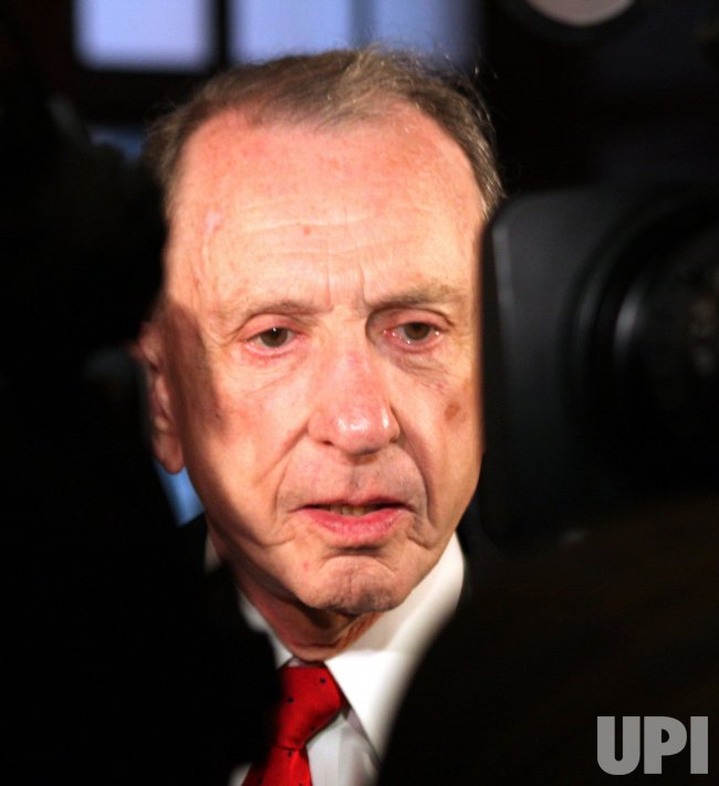 Sen. Arlen Specter during campaigning in Pennsylvnia