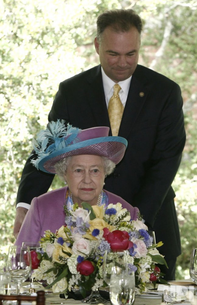 BRITAIN'S QUEEN ELIZABETH II VISITS WILLIAMSBURG, VIRGINIA