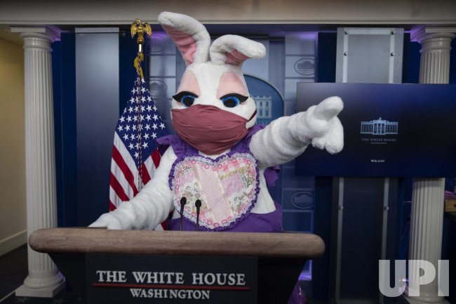 Easter Bunny At the White House