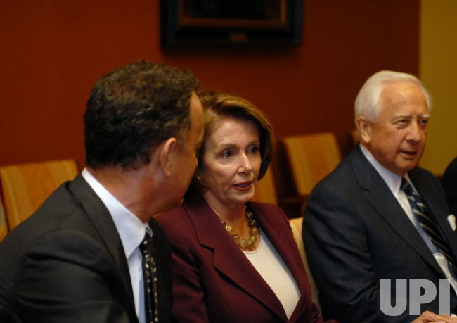 "Creators of HBO series ""John Adams"" meet Speaker Pelosi in Washington"