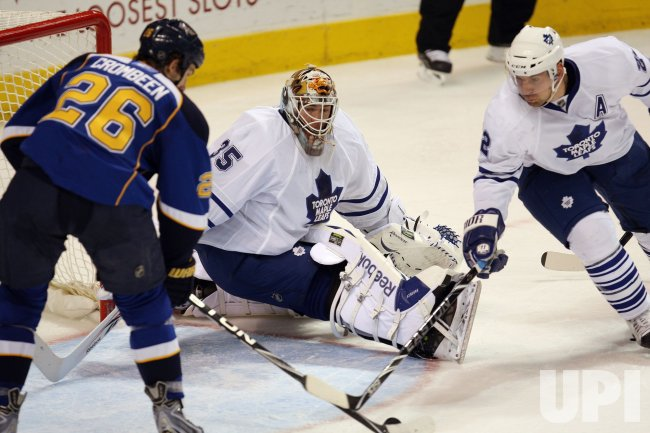 Toronto Maple Leafs vs St. Louis Blues