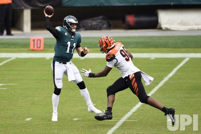 Philadelphia Eagles vs Cincinnati Bengals in Philadelphia