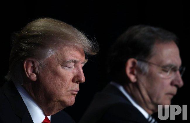 President Trump Attends National Prayer Breakfast