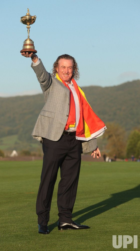Jimenez holds the Ryder Cup