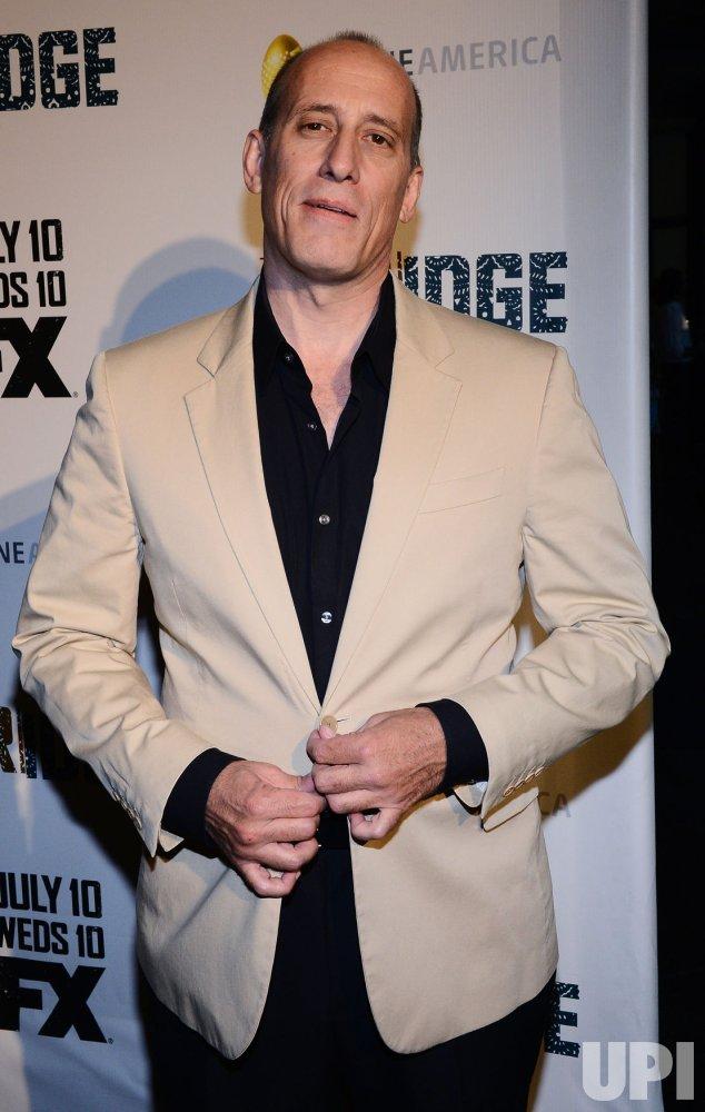 "Alex Fernandez attends the FX series premiere of ""The Bridge"" in Los Angeles"