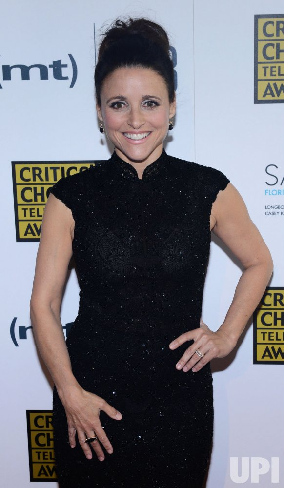 Julia Louise-Dreyfus attends the 3rd annual Critics' Choice Television Awards in Beverly Hills, California
