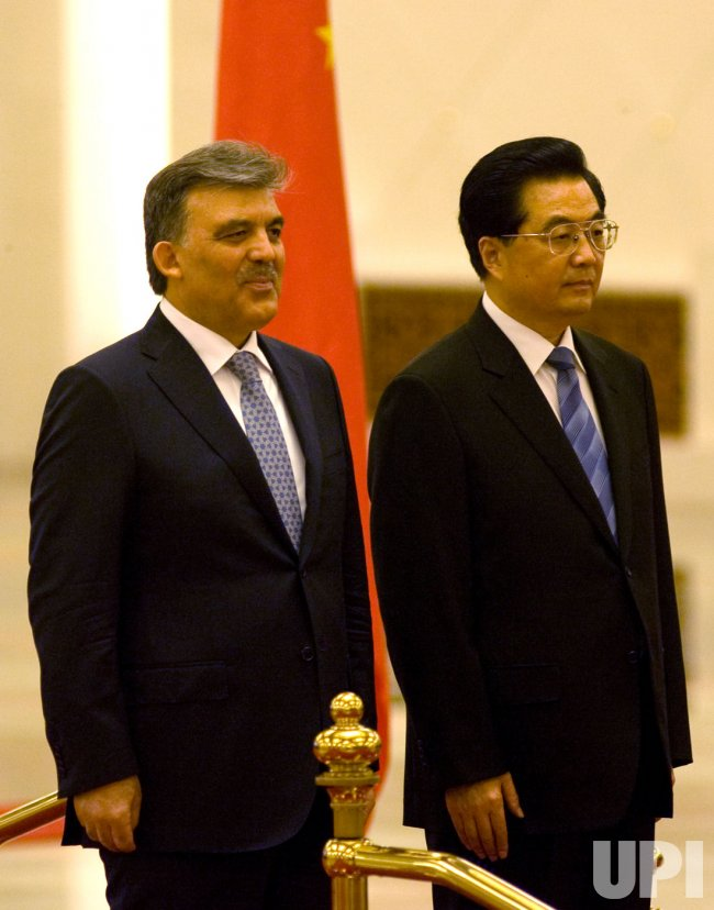 China's and Turkey's Presidents attend welcoming ceremony in Beijing