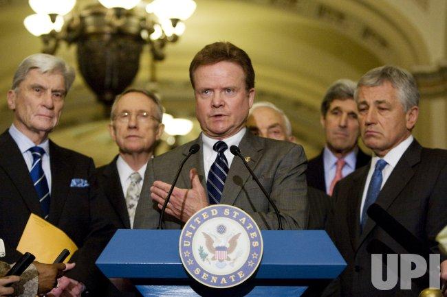 U.S. Senate passes Iraq funding bill in Washington