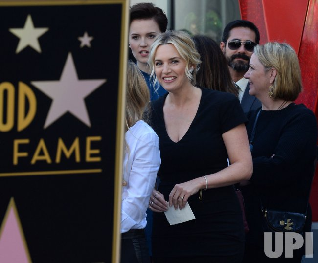 Kate Winslet receives star on the Hollywood Walk of Fame in Los Angeles