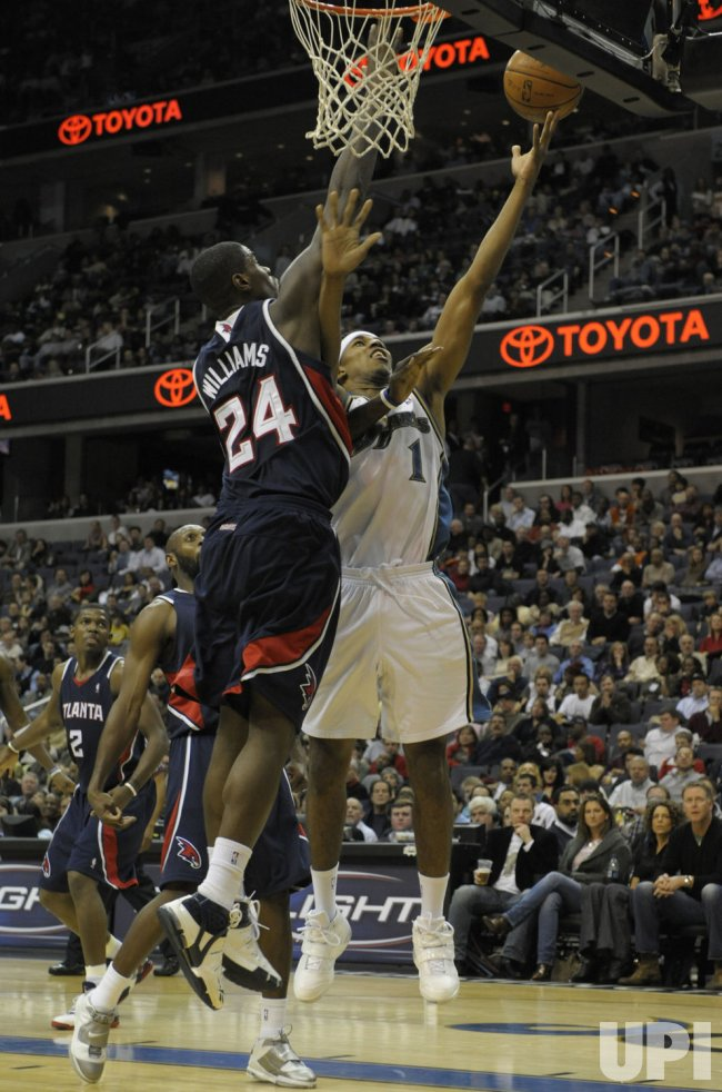 Atlanta Hawks vs Washington Wizards in Washington