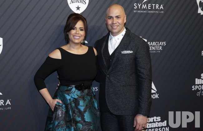 Carlos Beltran arrives at SI Sportsperson of the Year