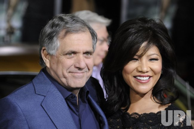 "Leslie Moonves and Julie Chen attend the premiere of the film ""Faster"" in Los Angeles"