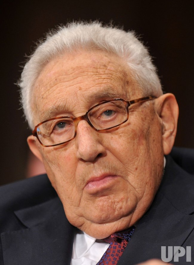 Henry Kissinger testifies on the U.S. Russia Strategic Arms Reduction Treaty in Washington