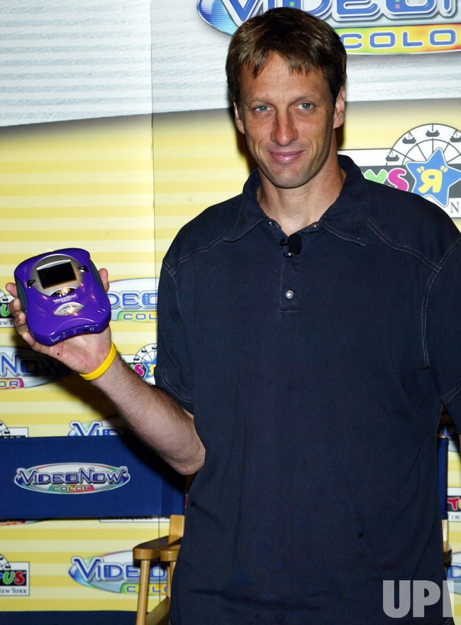 "TONY HAWK AT TOYS ""R"" US IN NEW YORK"