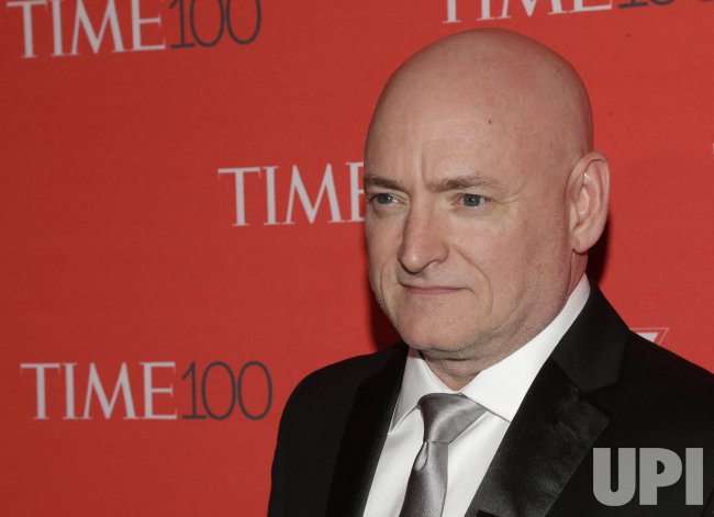 Scott Kelly arrives at the TIME 100 Gala in New York