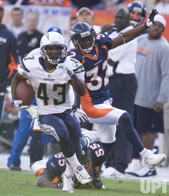 San Diego Chargers vs Denver Broncos