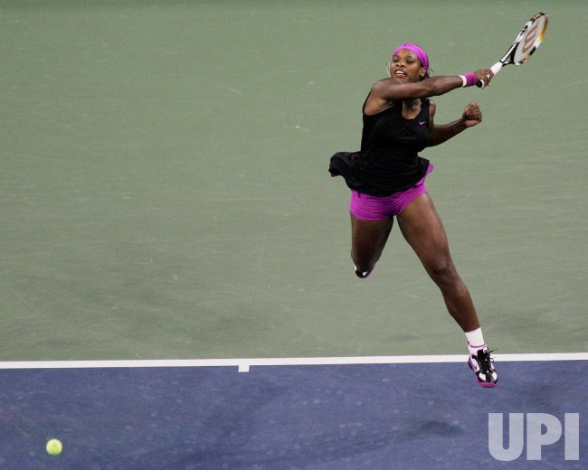 Williams takes on Pannetta during quarterfinals at the US Open Tennis Championship in New York