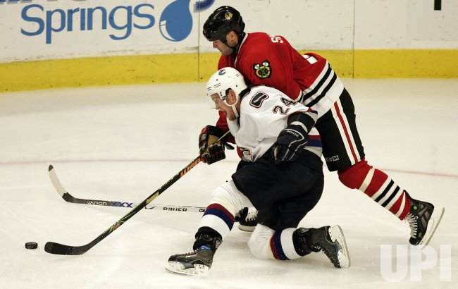 VANCOUVER CANUCKS VS CHICAGO BLACKHAWKS