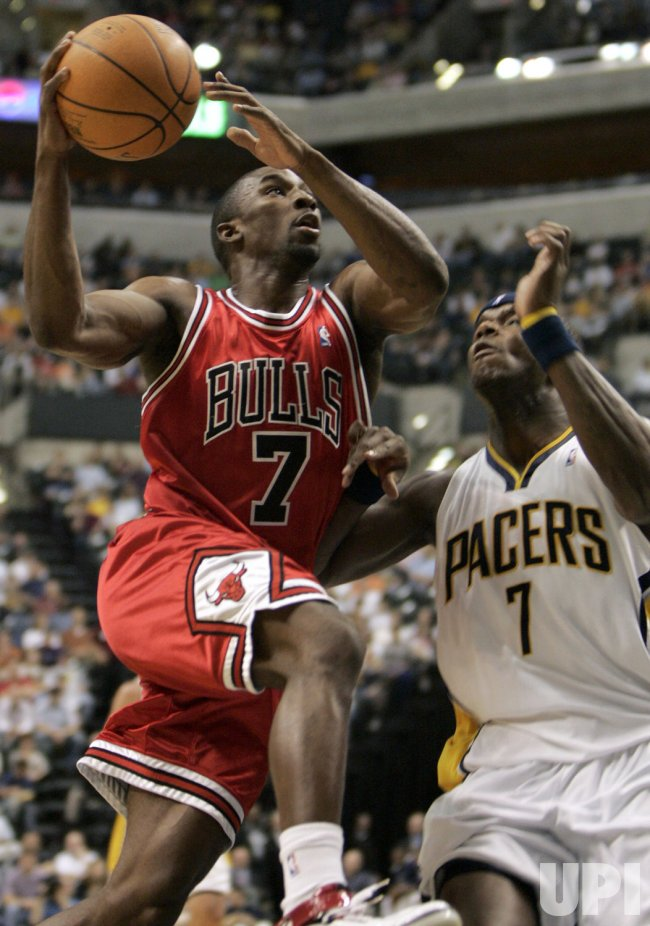 CHICAGO BULLS VS INDIANA PACERS