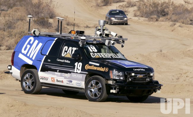 Carnegie Mellon University wins DARPA Challenge in California