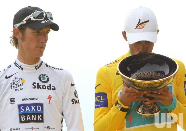 Tour de France arrives in Paris