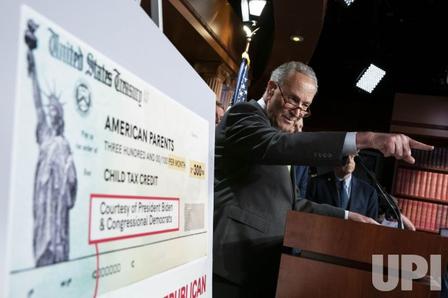 Democrats Hold News Conference on Child Tax Credit