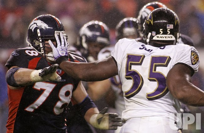 BALTIMORE RAVENS VS DENVER BRONCOS