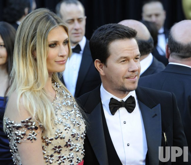 Mark Wahlberg and his wife Rhea Durham arrive at the 83rd annual Academy Awards in Hollywood