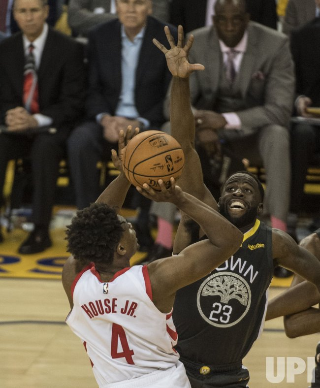Houston Rockets House Jr: Golden State Warriors Beat Houston Rockets 115-109